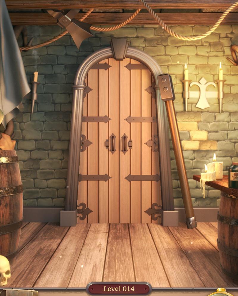 Hidden Doors Room Escape Level