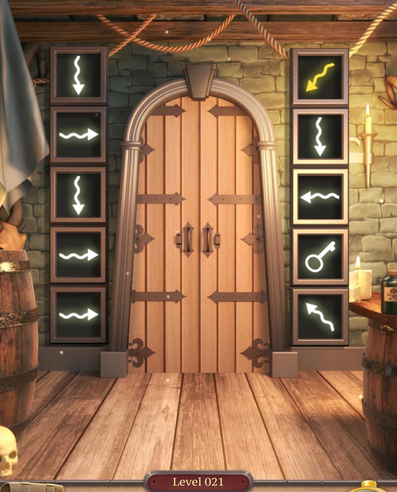 Conundrum 100 Doors Challenge 2 Walkthrough Level 21