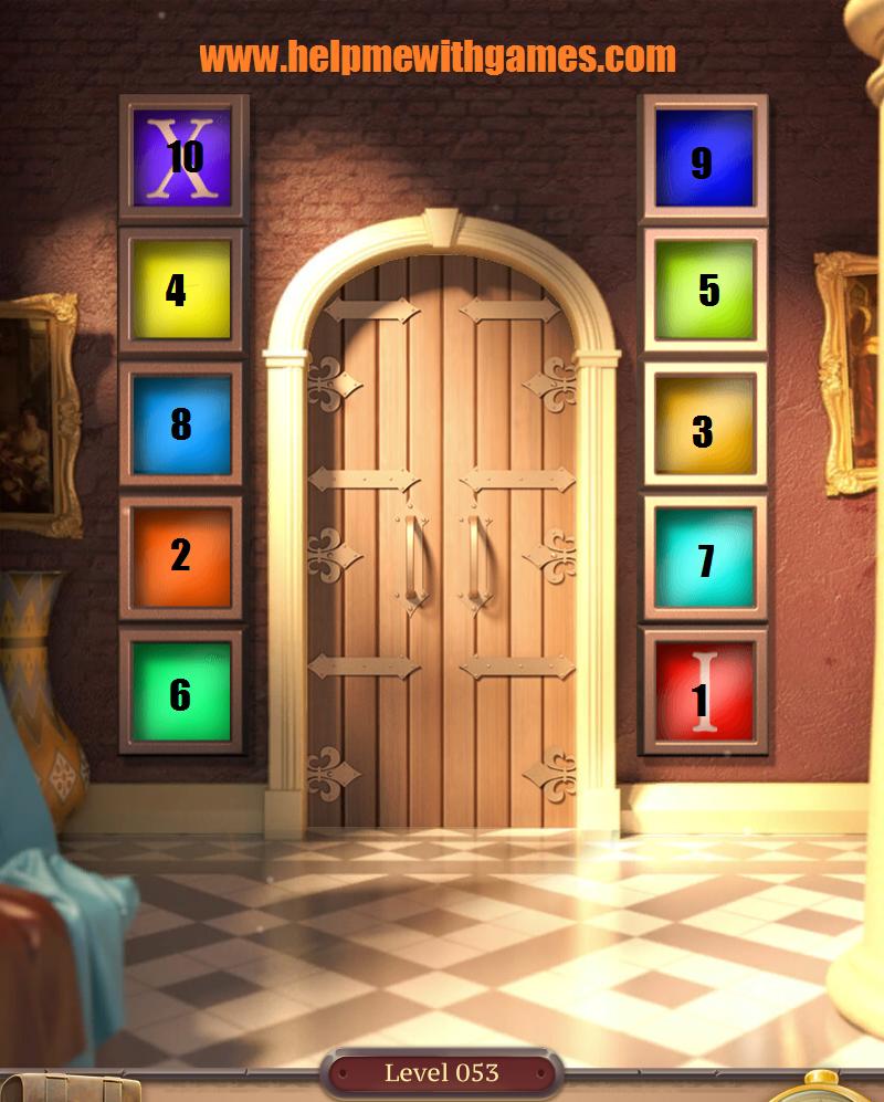 Conundrum 100 Doors Challenge 2 Walkthrough Level 53