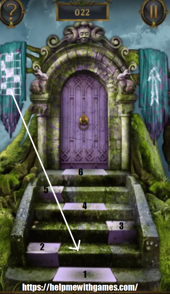 100 doors incredible walkthrough level 22 for Door 90 on 100 doors incredible