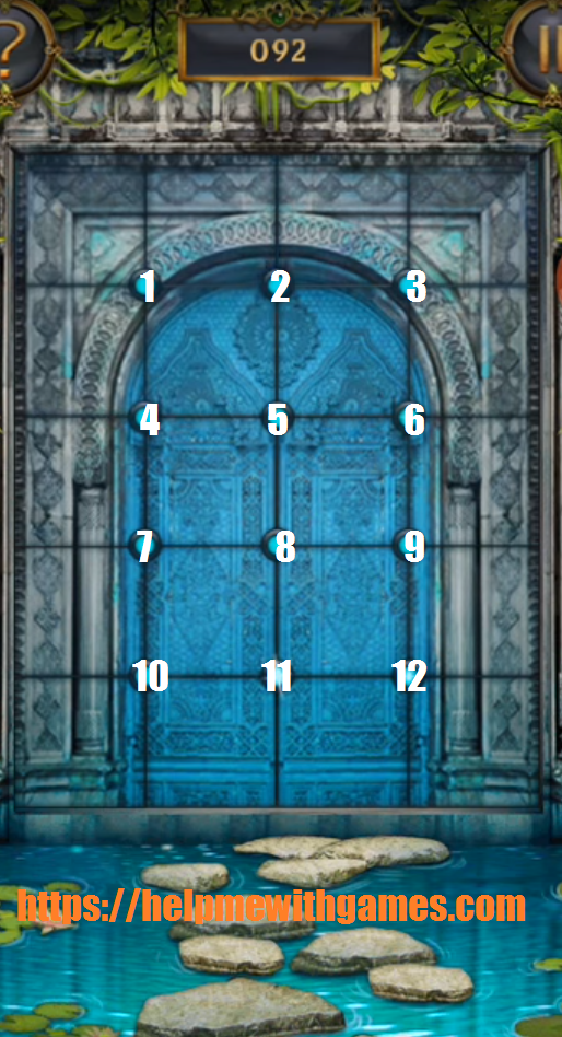 100 doors incredible walkthrough level 92
