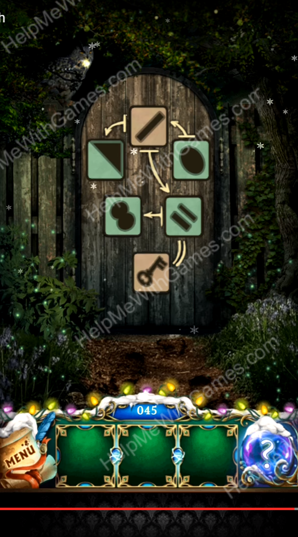 100 Doors The Mystic Christmas Level 45 Helpmewithgames