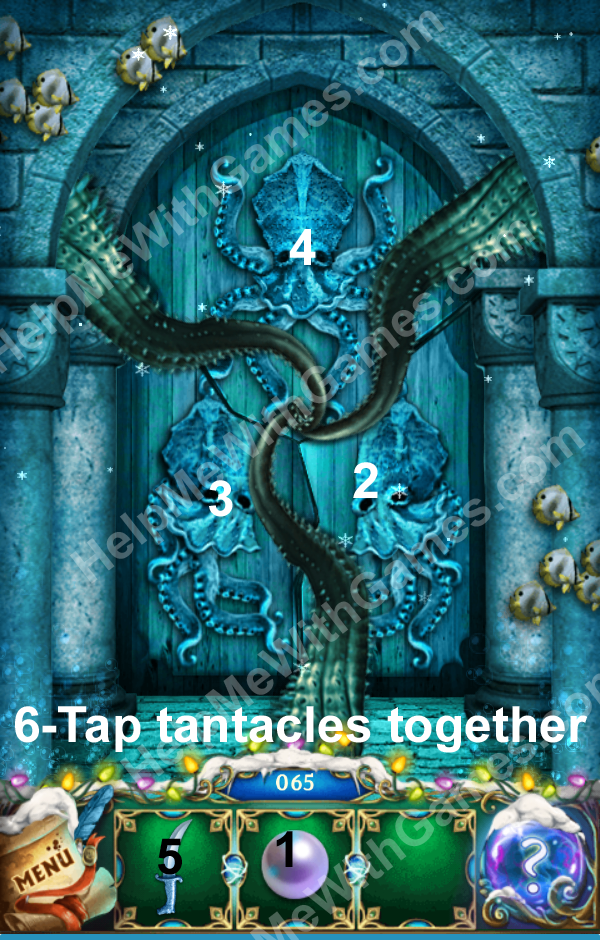 100 Doors The Mystic Christmas Level 65 Helpmewithgames