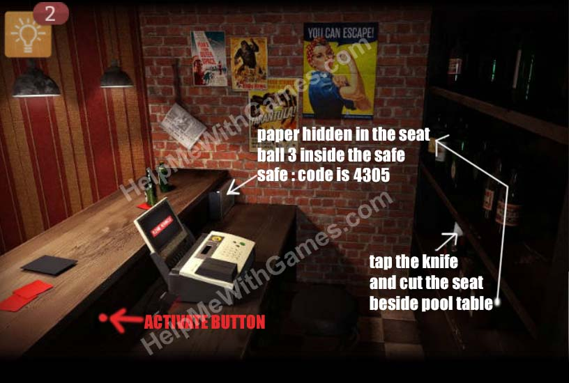 Spotlight Room Escape  Key