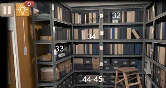 Spotlight Room Escape White Collar Archives Shelves